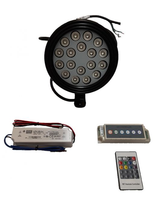 Pool Light Pack 18W RGB