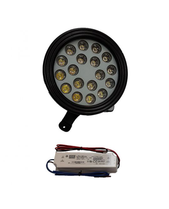 White 18V Pool Light Pack